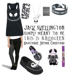 """""""Nightmare Before Christmas fan"""" by pjax2 ❤ liked on Polyvore featuring Disney, Torrid, Burton, women's clothing, women's fashion, women, female, woman, misses and juniors"""