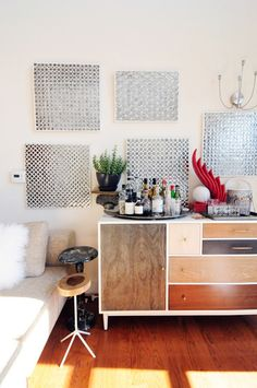 Patchwork Dresser from west elm via @Apartment Therapy