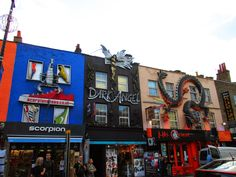 London series part two: Crazy, vibrant, bustling Camden Town http://www.thehappyblog.co.uk