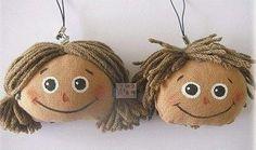 ATELIER CHERRY: Pingente boneca de pano