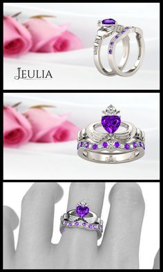 Classic Designer Rings from Jeulia Jewelry. Find your perfect ring set with Jeulia!