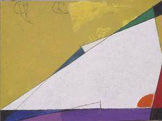 Osvaldo Licini, Alba (studio), 1956, olio su cartone, cm 20.5 x 29, Collezione privata.