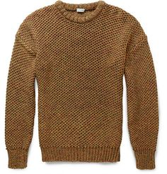 LoeweOpen-Knit Cotton Sweater