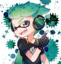 inkling boy, splatoon 2 - by sioriw.tumblr.com
