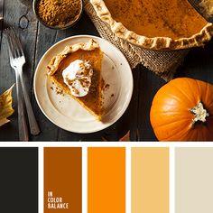 оттенки оранжевого, светло-оранжевый, темно-оранжевый, тыквенный цвет, цвет тыквы, цвета для декора помещения в Хэллоуин, цвета для хэллоуина, цвета осени, цвета осени 2015, цветовая палитра для Хэллоуина, черный, яркий оранжевый.
