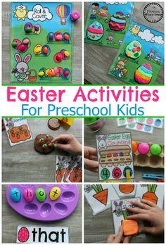Easter Activities for Preschool #easter #preschool #easteractivities #easterpreschool #planningplaytime