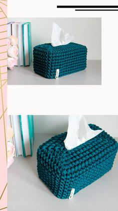 Dark turqoise tissue box cover, aqua color tones in scandinavian interior, nordic fresh design - Dark turqoise tissue box cover, aqua color tones in scandinavian interior, nordic fresh design Home decor items Breakfast Table Decor, Dining Room Table Decor, Living Room Furniture Arrangement, Kitchen Dinning, Dining Rooms, Tissue Box Covers, Tissue Boxes, Aqua Color, Color Tones