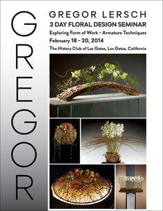 Gregor Seminar on Feb. Gregor Lersch, Floral Arrangements, Flower Arrangement, Ikebana, Floral Tops, Art Floral, Fresh Flowers, Flower Designs, Design Inspiration
