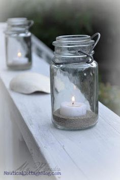 Decorating with Candlelight at the Coast - Beach House Beach House