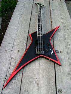 Custom Bass Guitar  Neal Moser   #Rock