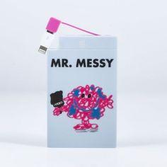Mr Men Mr Messy Powerbank 2500mAh - OFFICIALLY LICENSED  | eBay
