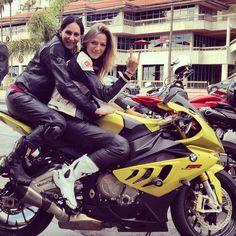 Biker Chicks on BMW