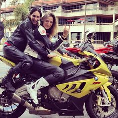 Biker Chicks on BMW
