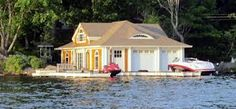 Image result for boat houses