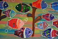 http://paintedpaperintheartroom.blogspot.com/2011/09/karla-gerard-folk-art-fish.html