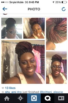 Braids  happy client #Looksbyimani Imanigunn@gmail.com #SavannahGa