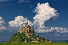 Mont Saint Michel Normandy, France