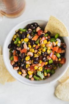 This easy recipe for Cowboy Caviar fun, colorful, and endlessly adaptable. Be sure to make a big bowl for your next barbecue or potluck! Salad Dressing Recipes, Salad Recipes, Vegan Recipes, Cooking Recipes, Cooking Ideas, Spinach Stuffed Mushrooms, Stuffed Peppers, Appetizer Recipes, Appetizers
