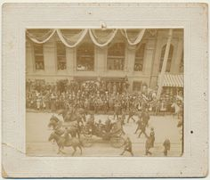 President theodore roosevelt parade 1903 colorado springs from crowcreekunique on etsy