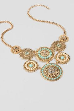 Kemp Statement Necklace