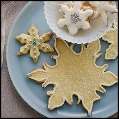 Paula Dean's Snowflake Cookies