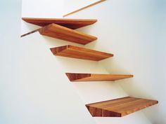 Escada de Madeira. Arquiteto: Gezelius Arkitektkontor.