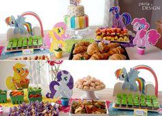 My Little Pony Party - Cutout Pony Decorations