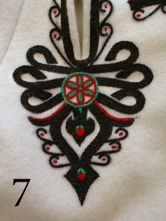 Embroidery motif on the trousers: folk costume from Podhale region, Poland. Folk Costume, Costumes, Polish Folk Art, Embroidery Motifs, String Art, Bead Art, Folklore, Tatting, Doll Clothes