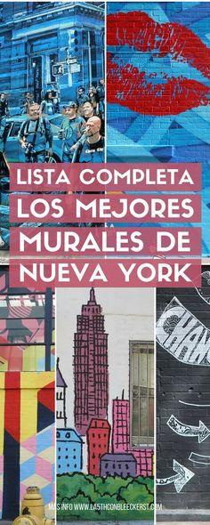 [GUÍA] Los mejores murales para fotos en Nueva York ACTUALIZADO 2017. #NuevaYork #NY #NYC #NewYork