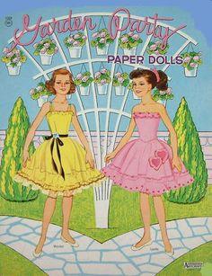 Paper Dolls~Garden Party - Bonnie Jones - Picasa Web Albums