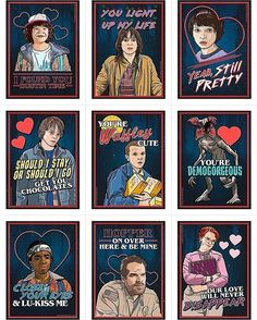 See this Instagram photo by @strangerthingstv_fan_art • 777 likes Stranger Things Barb, Stranger Things Have Happened, Stranger Things Netflix, Stranger Things Tattoo, Stranger Things Merchandise, Strangers Things, Valentine Cards, Valentines Day, Valentine Baskets