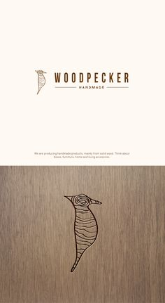 I try to find a perfect way to symbolize the Woodpecker with the passion of the company. Traditional design meets modern flair - really unique