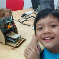 An e-Waste 3D Printer for Every Child? http://ift.tt/1PHvftV