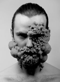 Extraordinary Gentlemen - SHOWstudio - The Home of Fashion Film Bart Hess, Trypophobia, Extraordinary Gentlemen, Skin Art, Human Body, Wearable Art, Character Design, Black And White, Photography