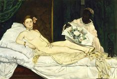 Edouard Manet Digital Art - Olympia by Edouard Manet