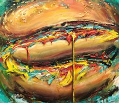 "Saatchi Art Artist: Steve Makse; Oil Painting ""Ecstacyandagony"""
