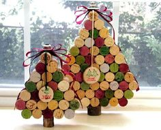 I have collected a million and one wine corks...this is too cute and a great way to use them up!