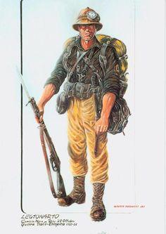 """Guerra Italo Etipopica 1935-36 - Camicia Nera, Divisione MVSN """"23 Ottobre"""""""