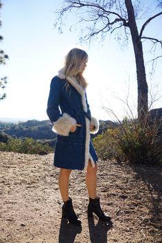 Dusk to Dawn Faux Fur Coat