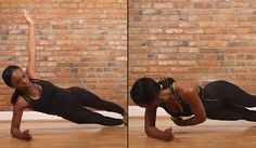 Cyclists should do this type of side plank to develop core stability for long rides