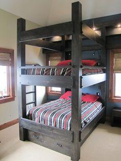 Boys bunk beds