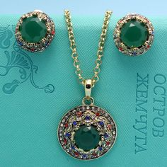 Cheap jewellery costume, Buy Quality jewellery showcase directly from China set clothes Suppliers: Top Quality Precioso Fashion Turkish Jewelry Shiny Emerald Sapphire Resin Necklace Earrings Jewelry Sets Colares Biju