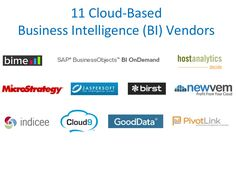 11 Cloud-Based Business Intelligence (BI) Vendors by Future Point of View via Slideshare