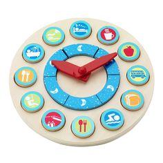 Aprendiendo las horas Kids Schedule, Diy Clock, Wood Toys, Wooden Diy, Diy Crafts For Kids, Educational Toys, Toddler Activities, Games For Kids, Parenting Hacks