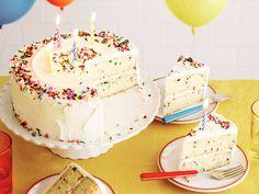 Fluffy Confetti Birthday Cake Recipe : Food Network Kitchen : Food Network - FoodNetwork.com