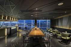 Hong Kong International Airport was voted the World's Best Airport for Dining by Skytrax