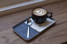 Creative way to serve coffee via the Monocle cafe in London