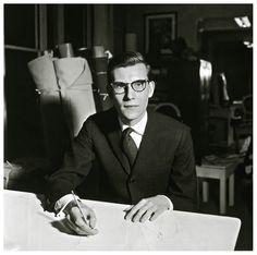 Photo Willy Maywald 1957 Yves SaintLaurent