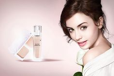 Lancome Blanc Miracle & Blanc Expert for Spring 2014 – Beauty Trends and Latest Makeup Collections Beauty Ad, Beauty Trends, Beauty Makeup, Hair Makeup, Mack Up, Lily Collins Style, Cosmetics & Perfume, Latest Makeup, Make Up Collection