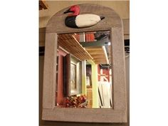 Wooden Duck Mirror